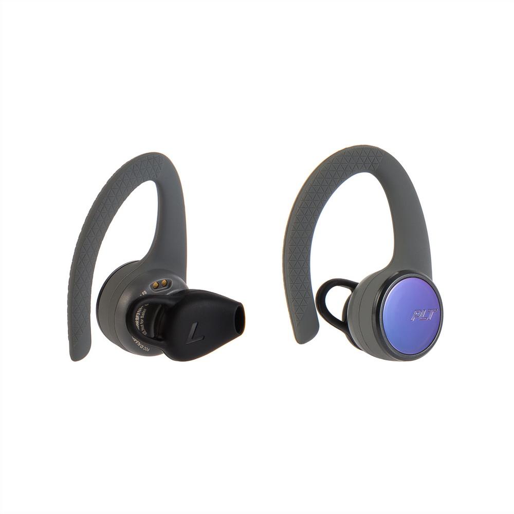 繽特力 Plantronics|BackBeat FIT 3100真無線運動音樂耳機-電光冒險灰