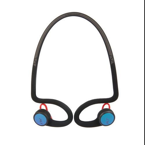 繽特力 Plantronics|BackBeat FIT 2100藍牙運動耳機-電光跑酷黑