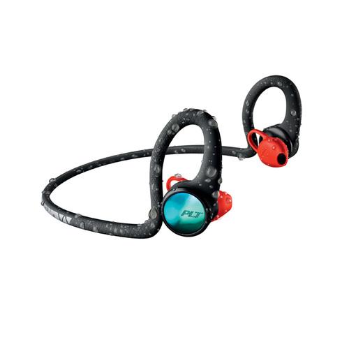 繽特力 Plantronics BackBeat FIT 2100藍牙運動耳機-電光跑酷黑