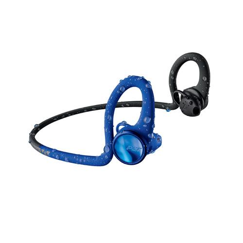 繽特力 Plantronics BackBeat FIT 2100藍牙運動耳機-電光動感藍