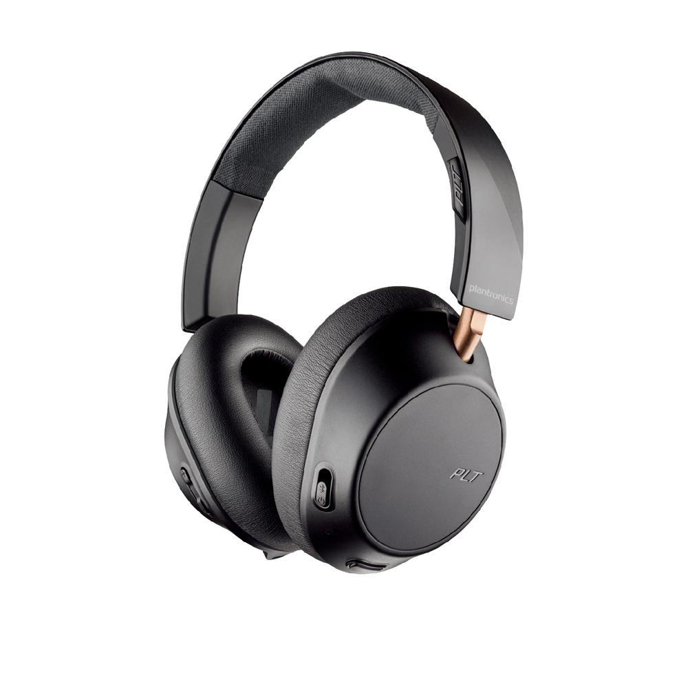 繽特力 Plantronics|BackBeat GO 810 主動降噪藍牙音樂耳機 石墨黑