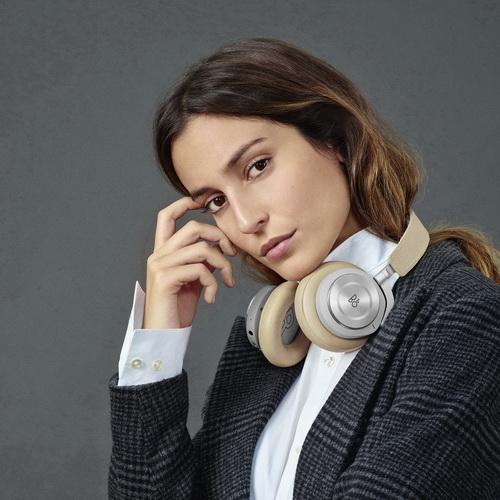 B&O H9i主動降噪藍牙音樂耳機 自然棕