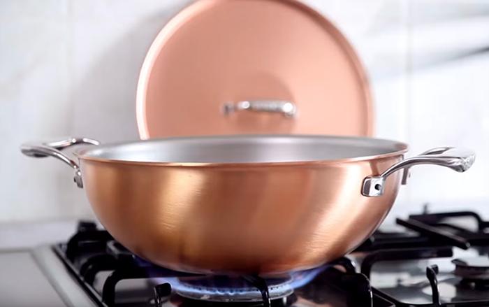 比利時FALK|紅銅平底鍋28cm-經典款
