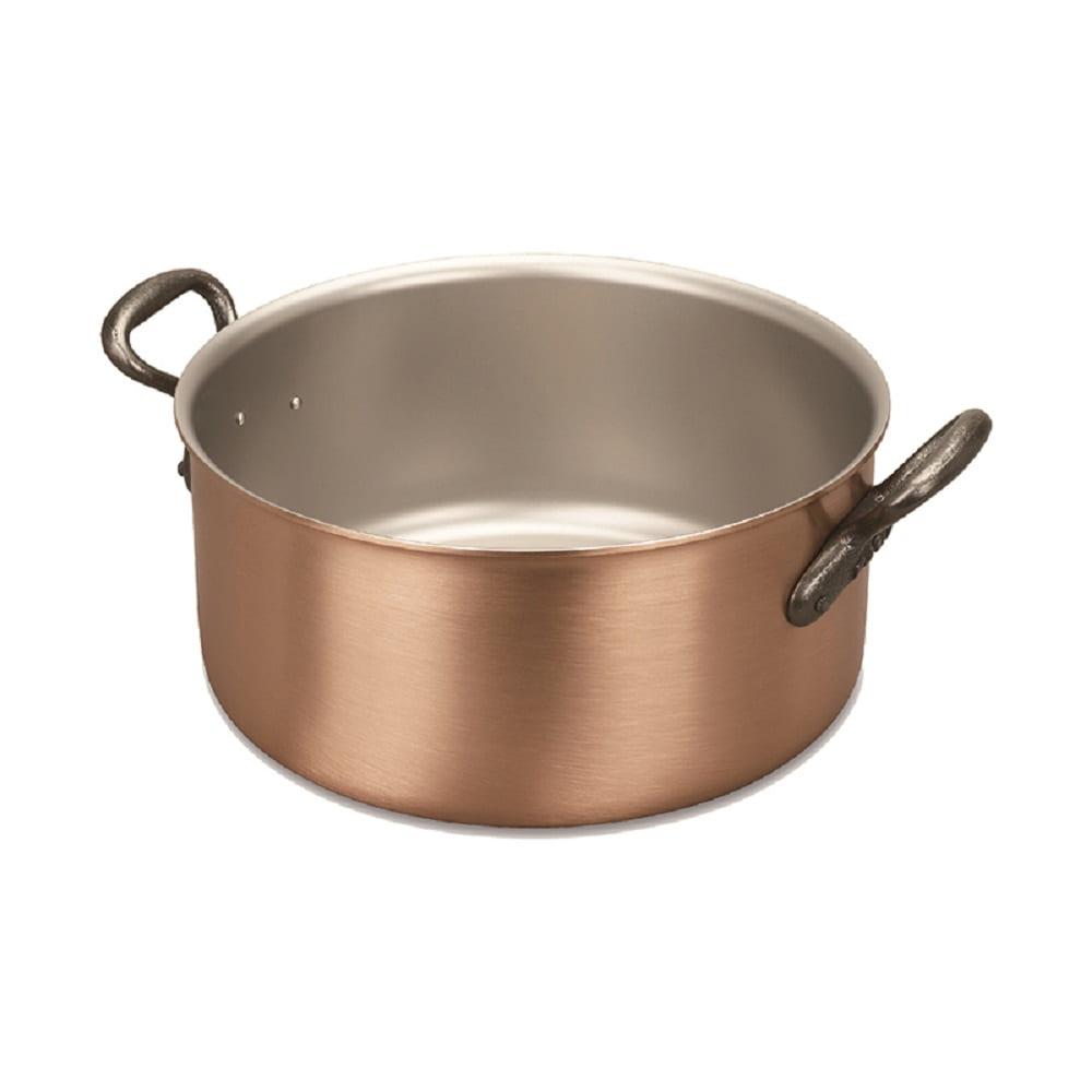 比利時FALK|紅銅湯鍋24cm-經典款