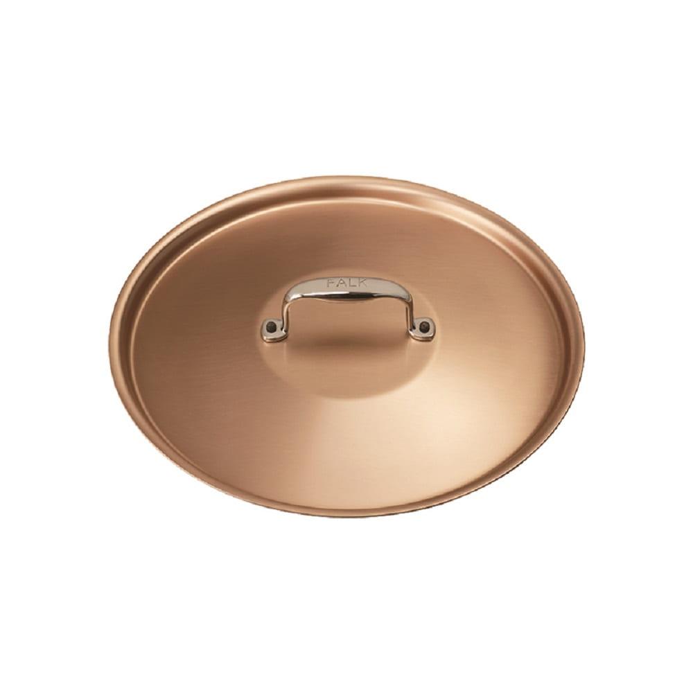 比利時FALK紅銅鍋蓋24cm-時尚款