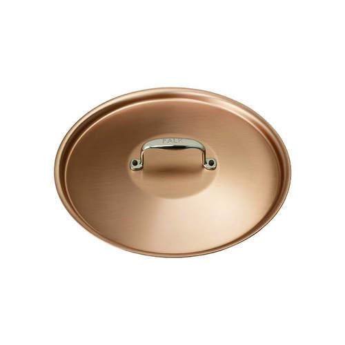 比利時FALK|紅銅湯鍋24cm(含鍋蓋)-時尚款