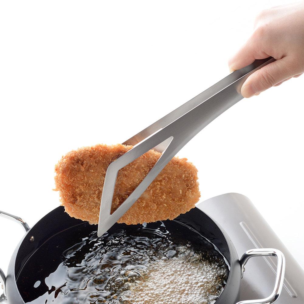 日本Arnest |燕三條正反兩用料理夾-兩入組