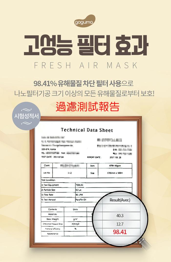 【集購】韓國goguma|多重防護奈米呼氣閥口罩(四色任選)