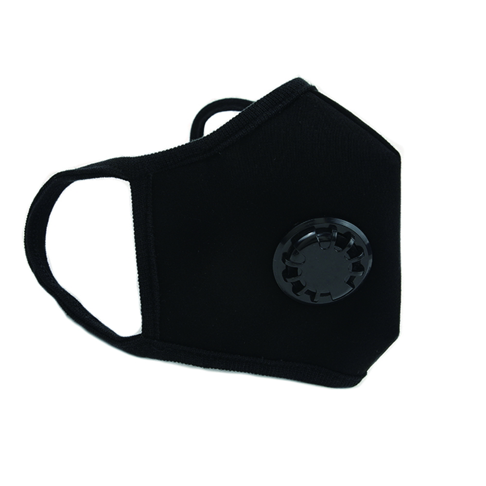 韓國goguma|多重防護呼氣閥口罩-黑色(XL)
