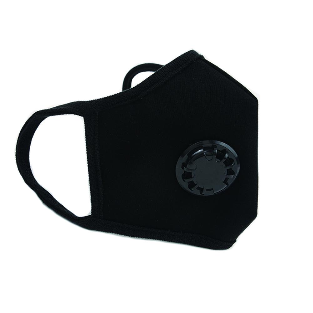 韓國goguma 多重防護奈米呼氣閥口罩-黑色(L)