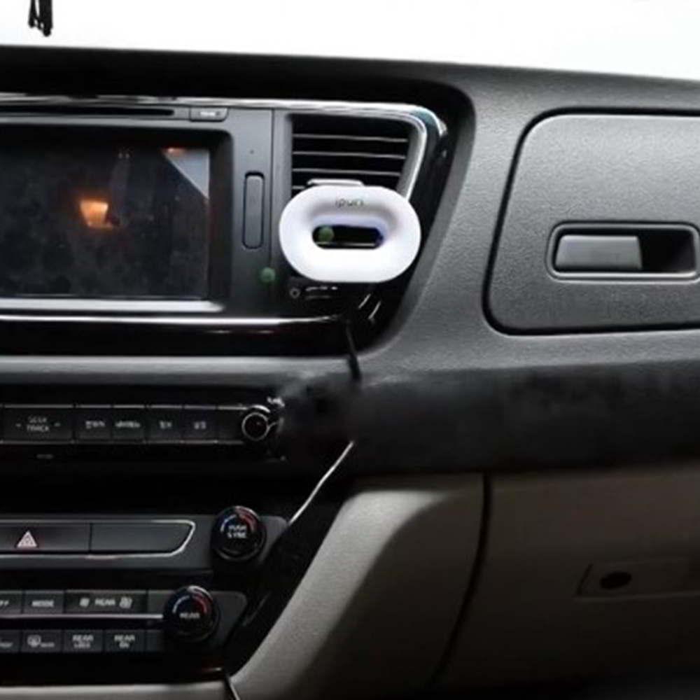 韓國Ipuri|車用負離子空氣清淨環(兩色任選)