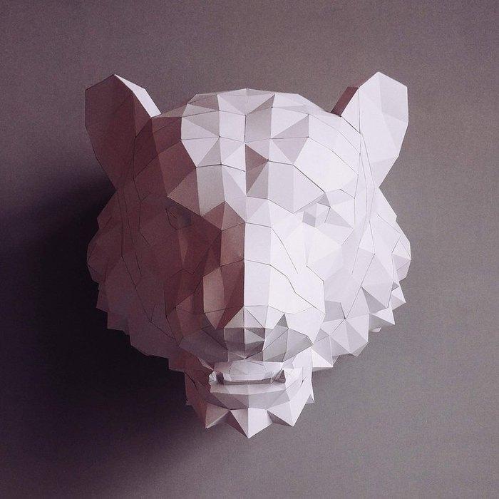 匠紙|老虎(壁飾wall decoration)