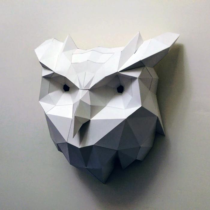 匠紙|貓頭鷹(壁飾wall decoration)