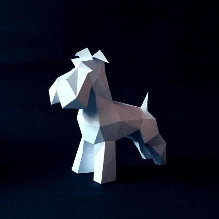 匠紙|雪納瑞(擺飾paper sculpture)