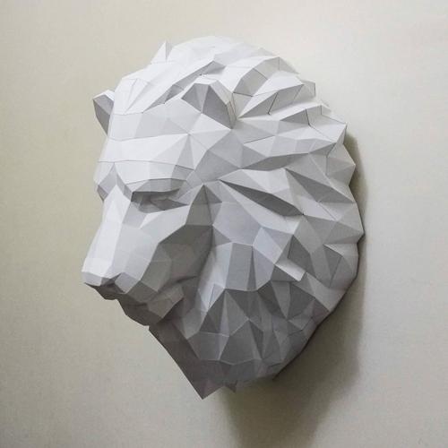 匠紙 獅子(壁飾wall decoration)