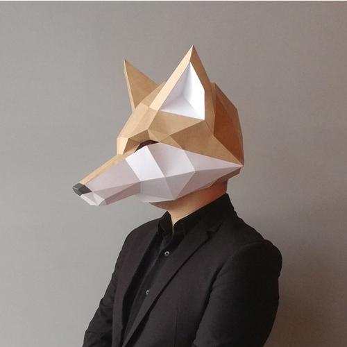 匠紙|狐狸(面具mask)