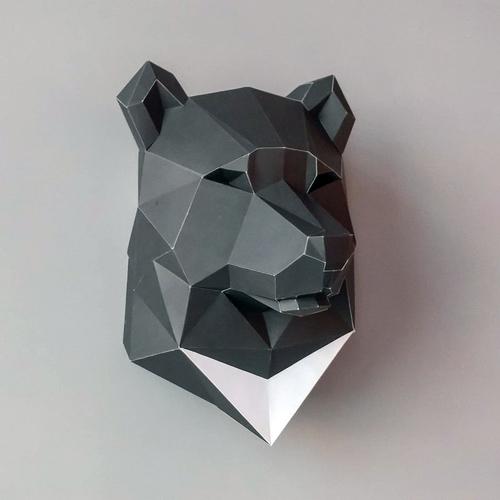 匠紙|臺灣黑熊(壁飾wall decoration)