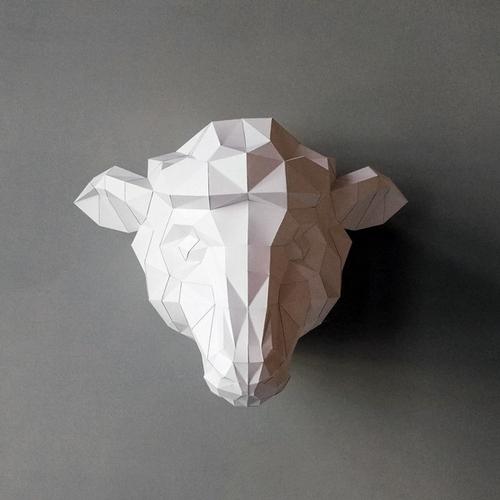 匠紙|綿羊(壁飾wall decoration)