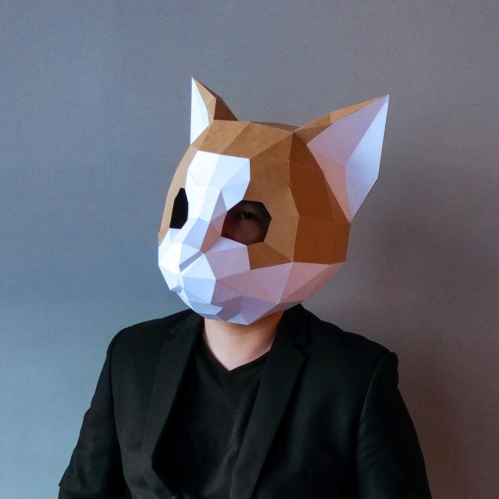 匠紙|橘子貓(面具mask)