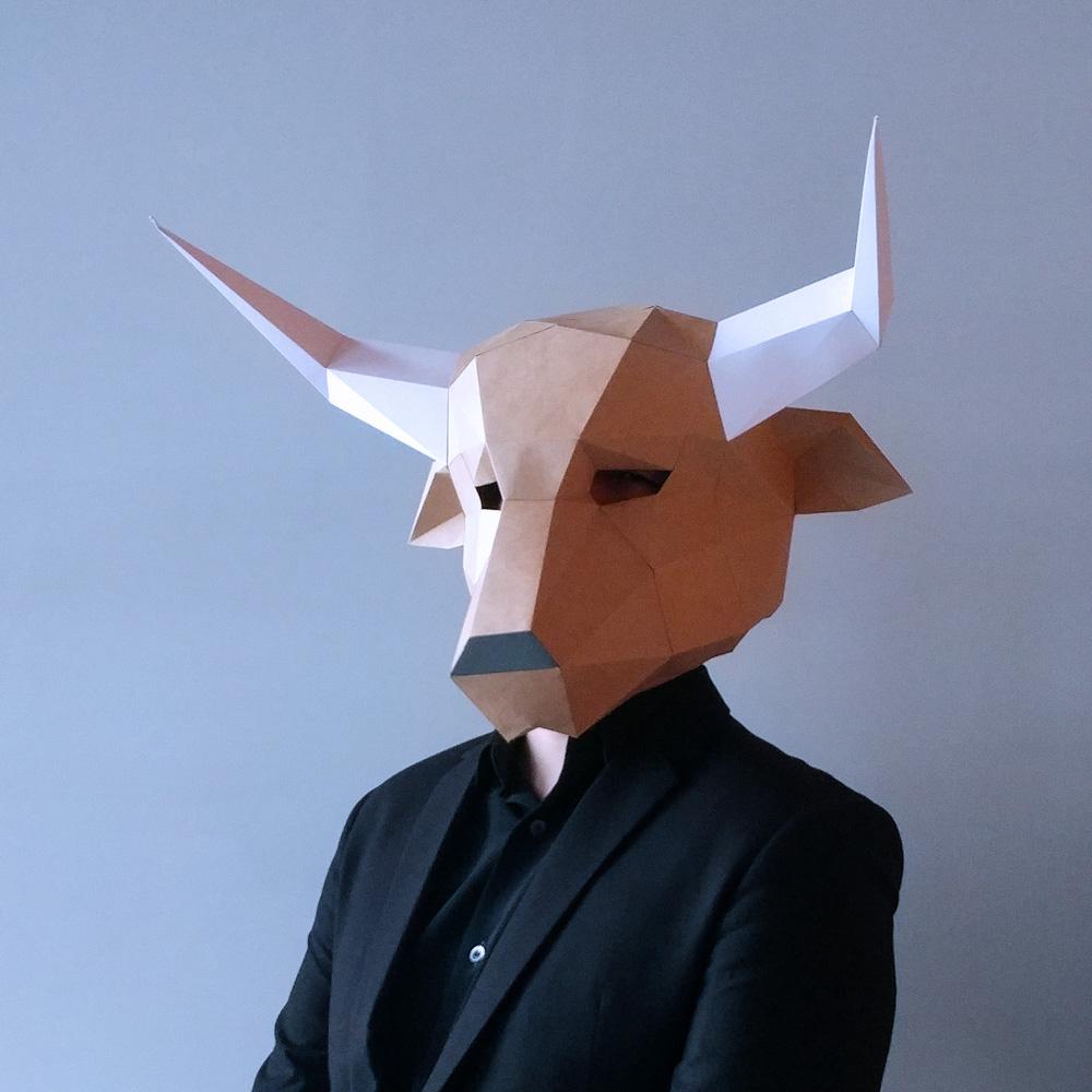 匠紙|牛頭(面具mask)