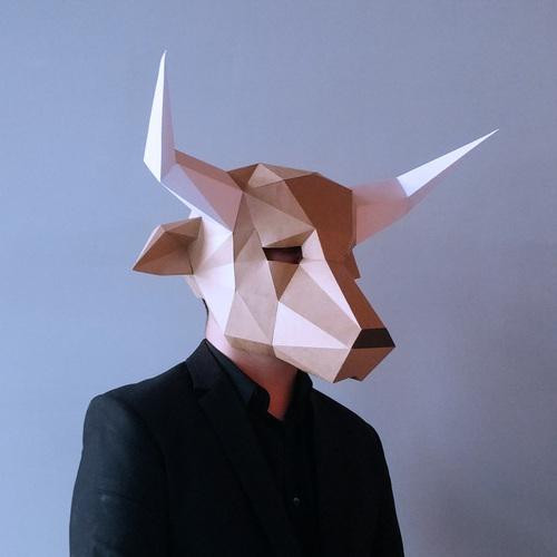 匠紙 牛頭(面具mask)
