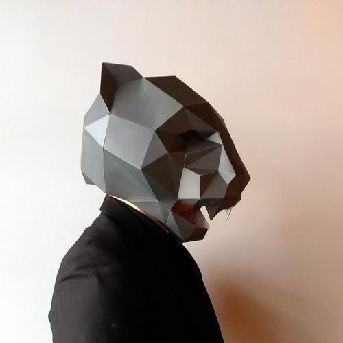 匠紙|黑豹(面具mask)