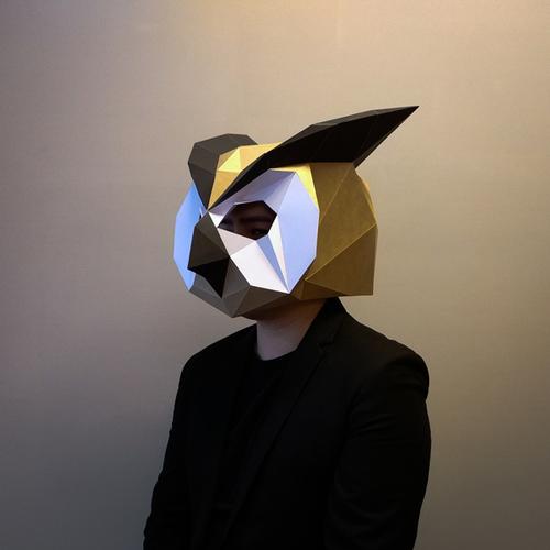 匠紙|貓頭鷹(面具mask)