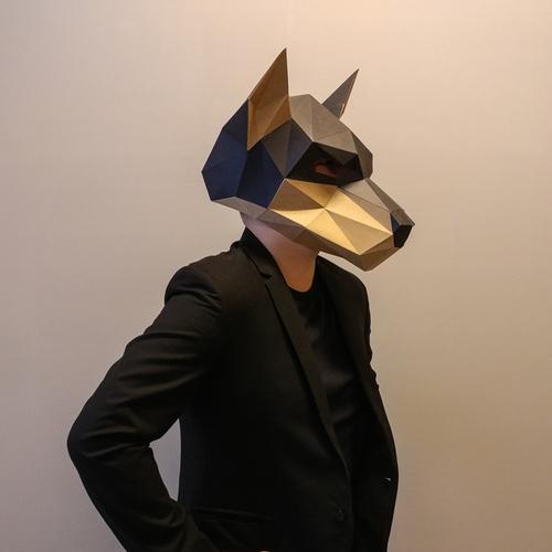 匠紙|杜賓犬(面具mask)