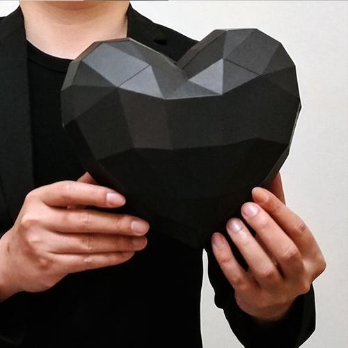 匠紙|小愛心(擺飾paper sculpture)
