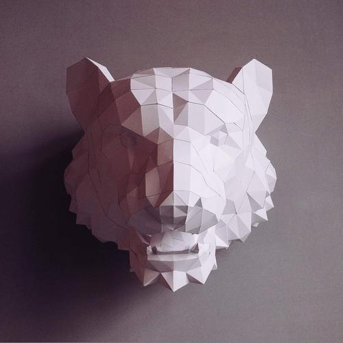 匠紙 老虎(壁飾wall decoration)