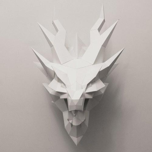 匠紙|西洋龍(壁飾wall decoration)