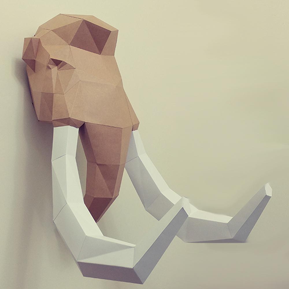 匠紙|猛瑪象(壁飾wall decoration)