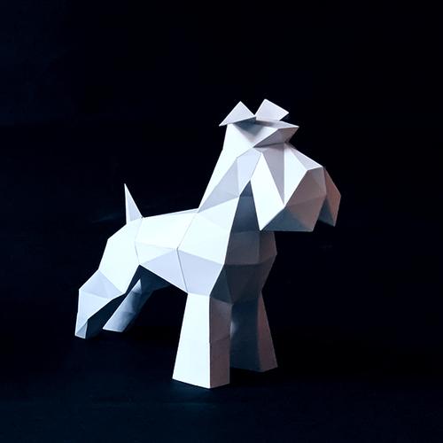 匠紙 雪納瑞(擺飾paper sculpture)