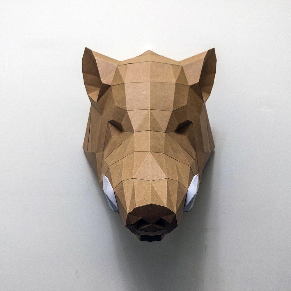 匠紙|山豬(壁飾wall decoration)