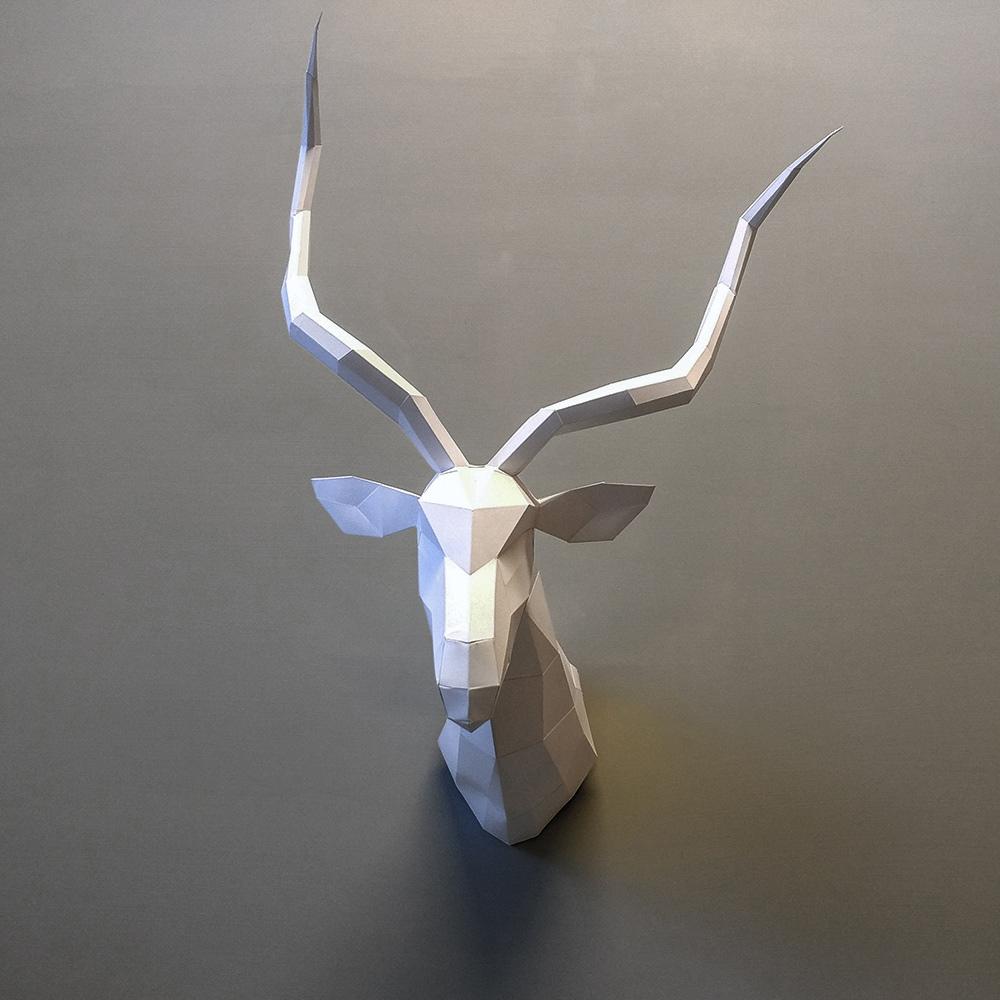 匠紙|極簡羚羊(壁飾wall decoration)