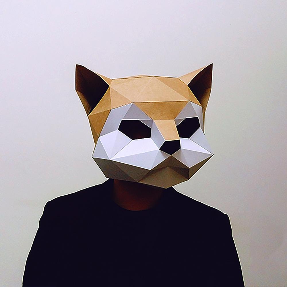 匠紙|貓(面具mask)