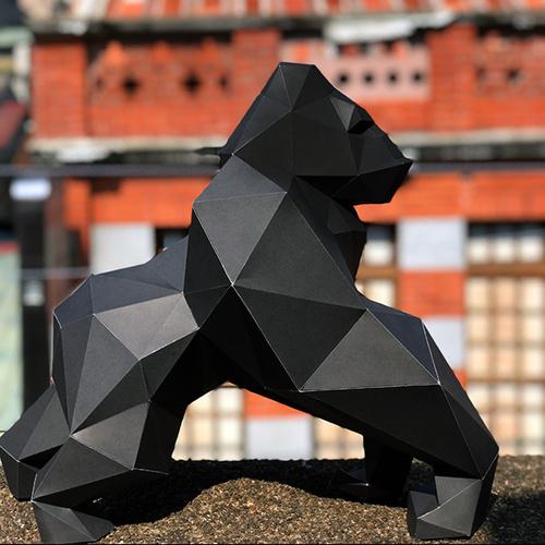 匠紙 大金剛(擺飾paper sculpture)