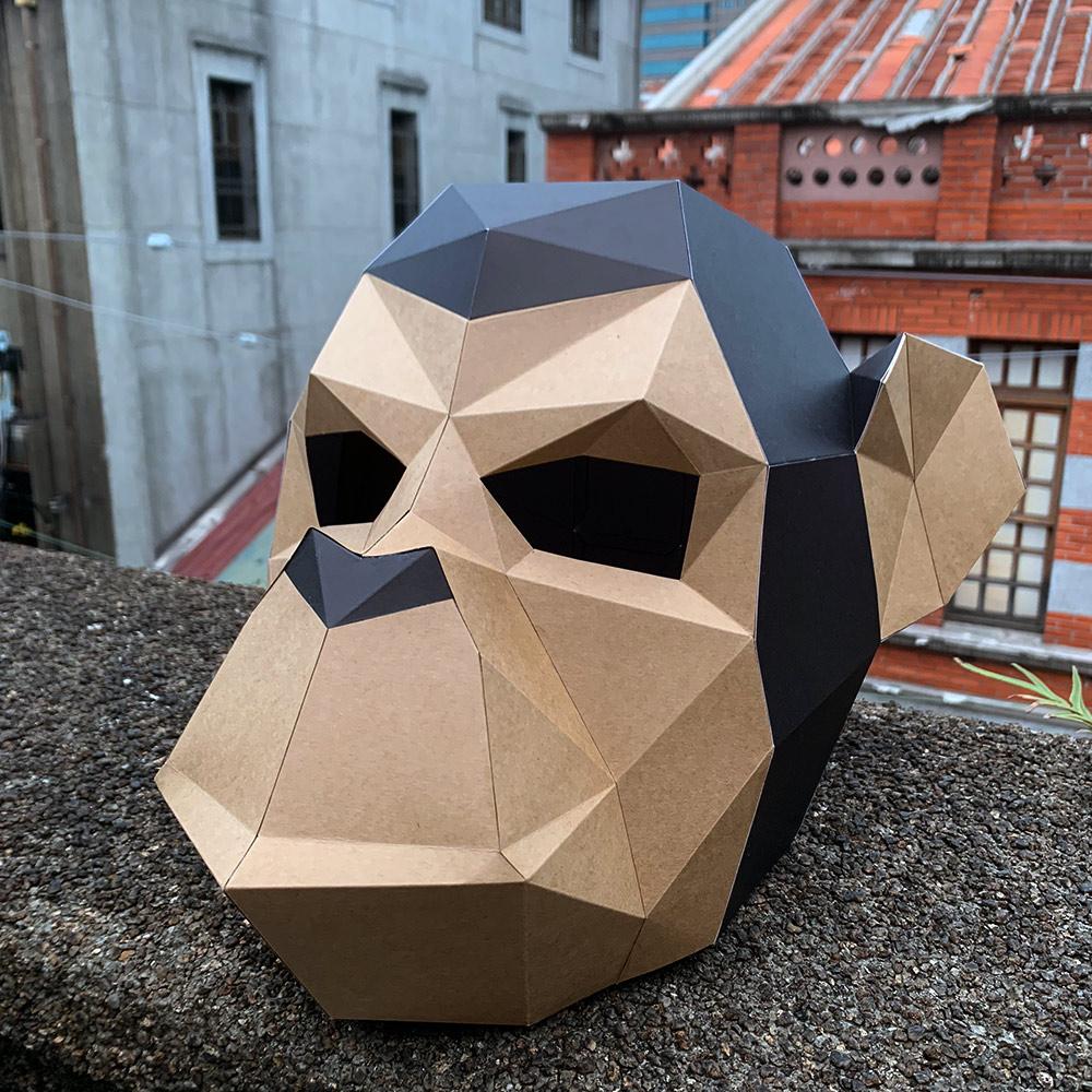匠紙|猩猩(面具mask)