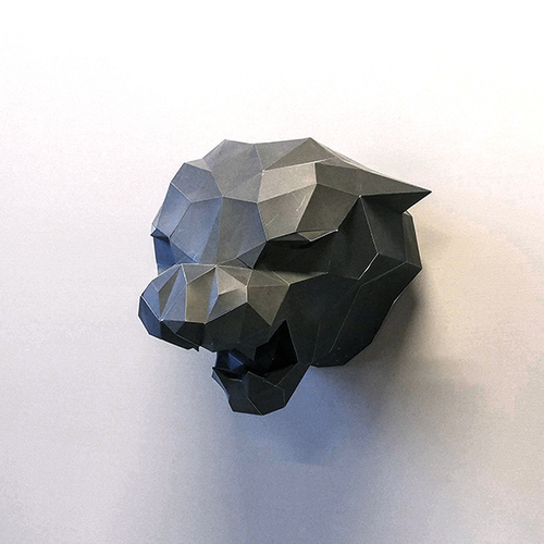 匠紙|黑豹(壁飾wall decoration)|L