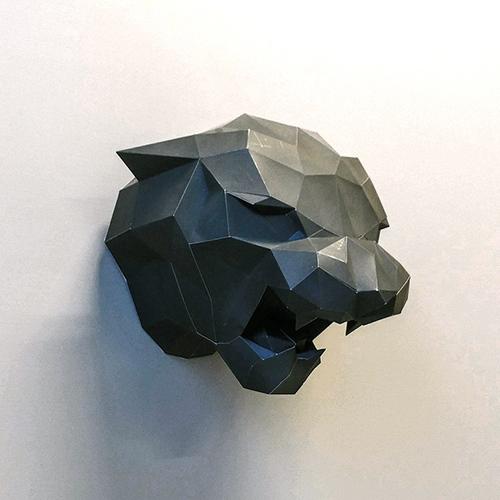 匠紙 黑豹(壁飾wall decoration) M