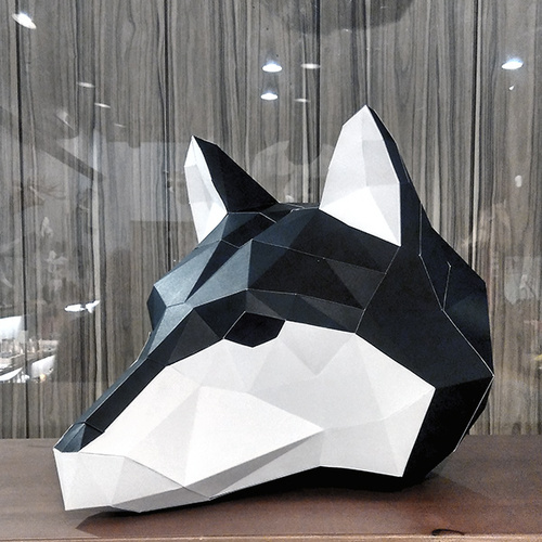 匠紙|哈士奇(面具mask)