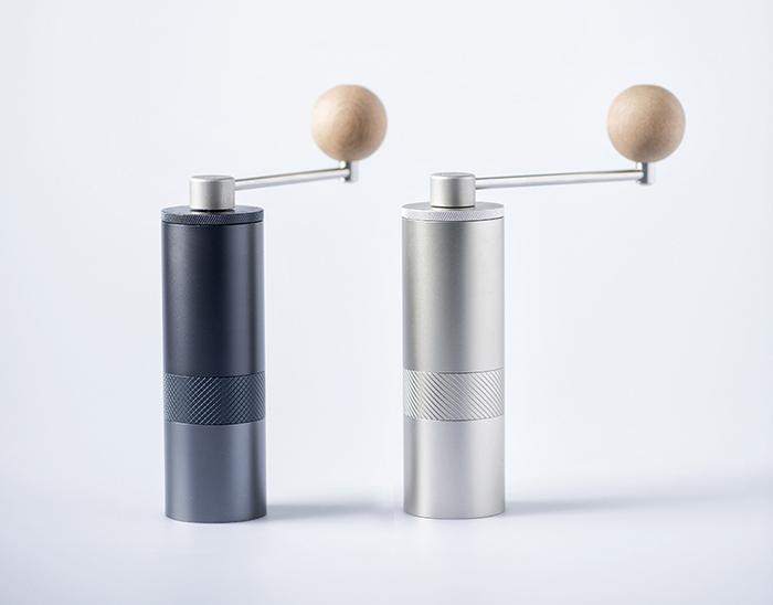 1Zpresso| 手搖磨豆機 1Z-E雙軸承上調式 鉑金灰