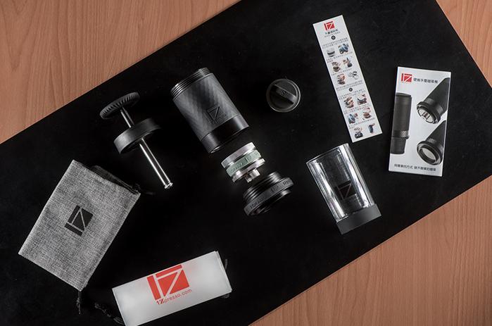 1Zpresso|第三代義式便攜手壓咖啡機(金屬特仕版)