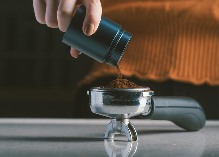 1Zpresso| 手搖磨豆機 1Z-E雙軸承上調式 - 鉑金灰