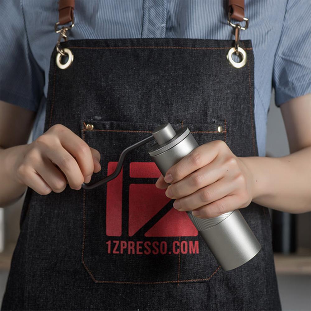 1Zpresso  手搖磨豆機 1Z-E雙軸承上調式 - 鉑金灰