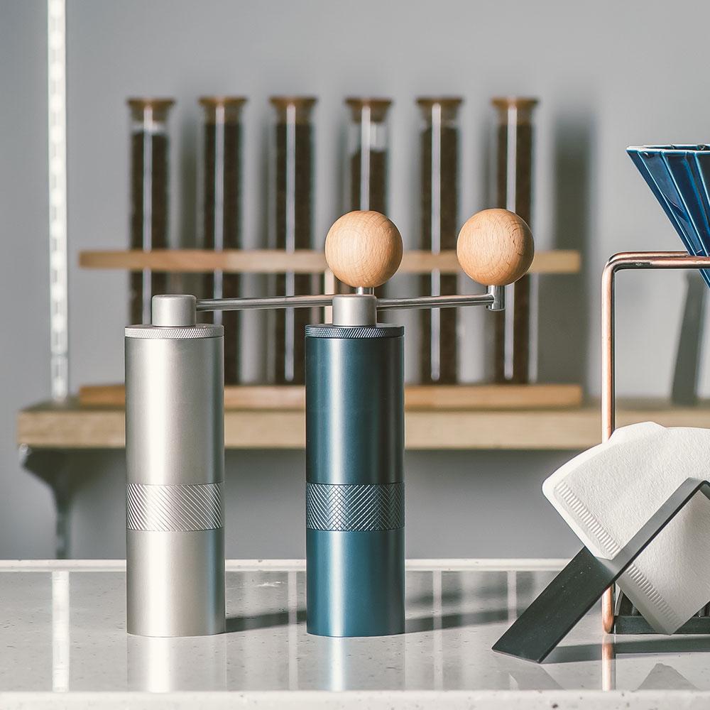 1Zpresso| 手搖磨豆機 1Z-E雙軸承上調式 曜石藍