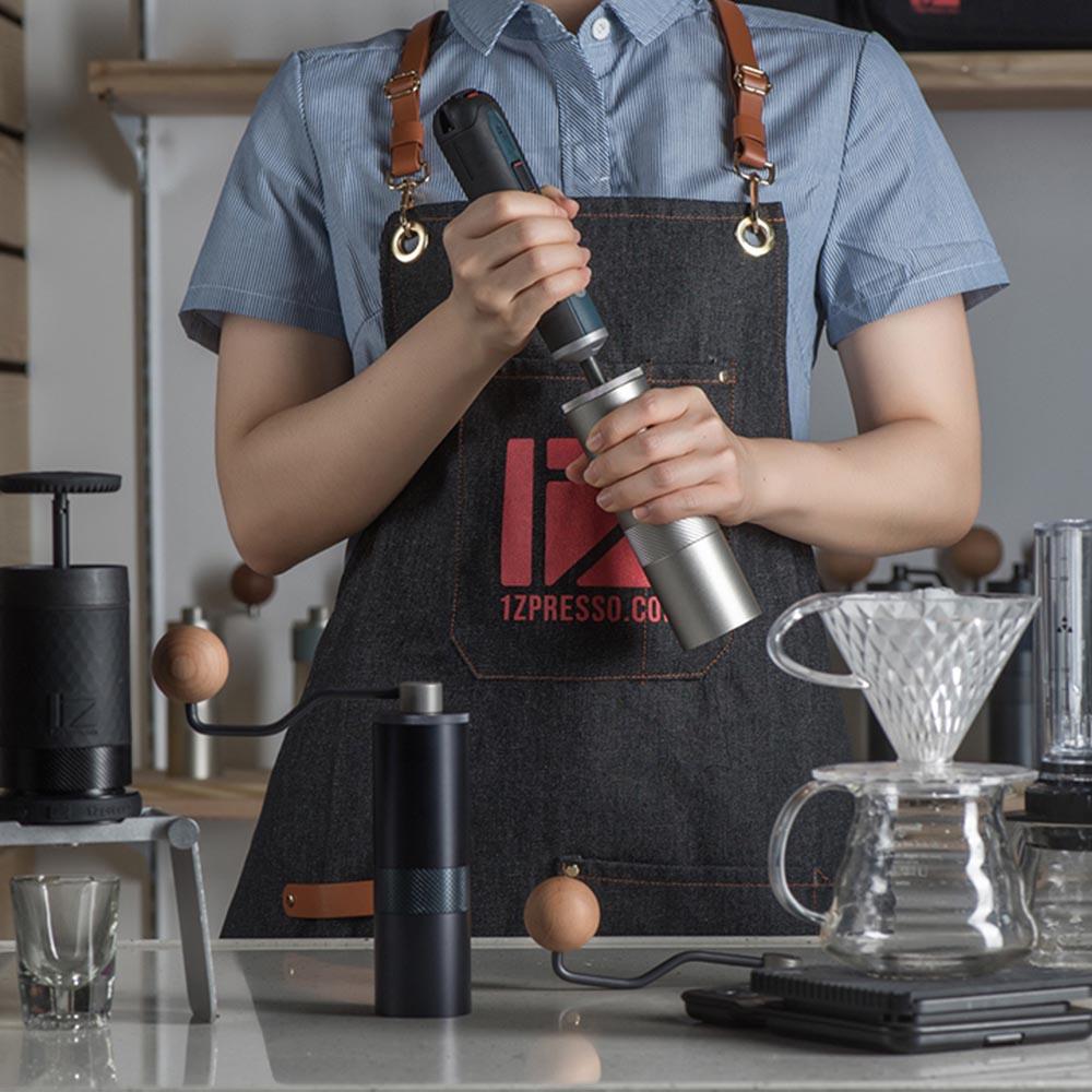 1Zpresso  手搖磨豆機 1Z-E雙軸承上調式 曜石藍