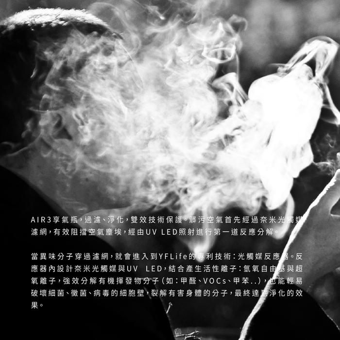 YFLife 圓方生活|AIR 3 空氣淨化器-經典白