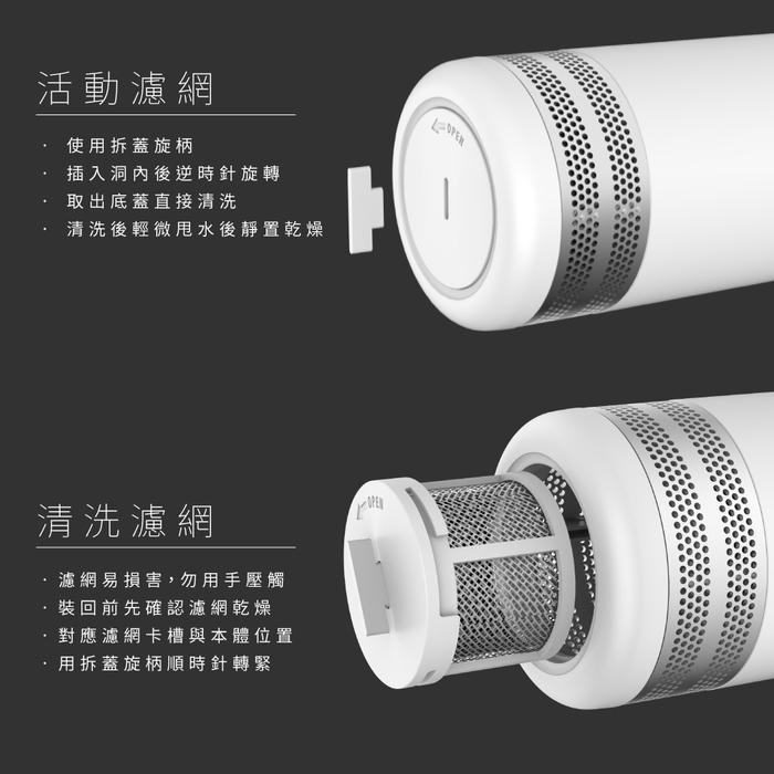 YFAM圓方|ALEXA 3 空氣淨化器-經典白+紅環 (限量色)