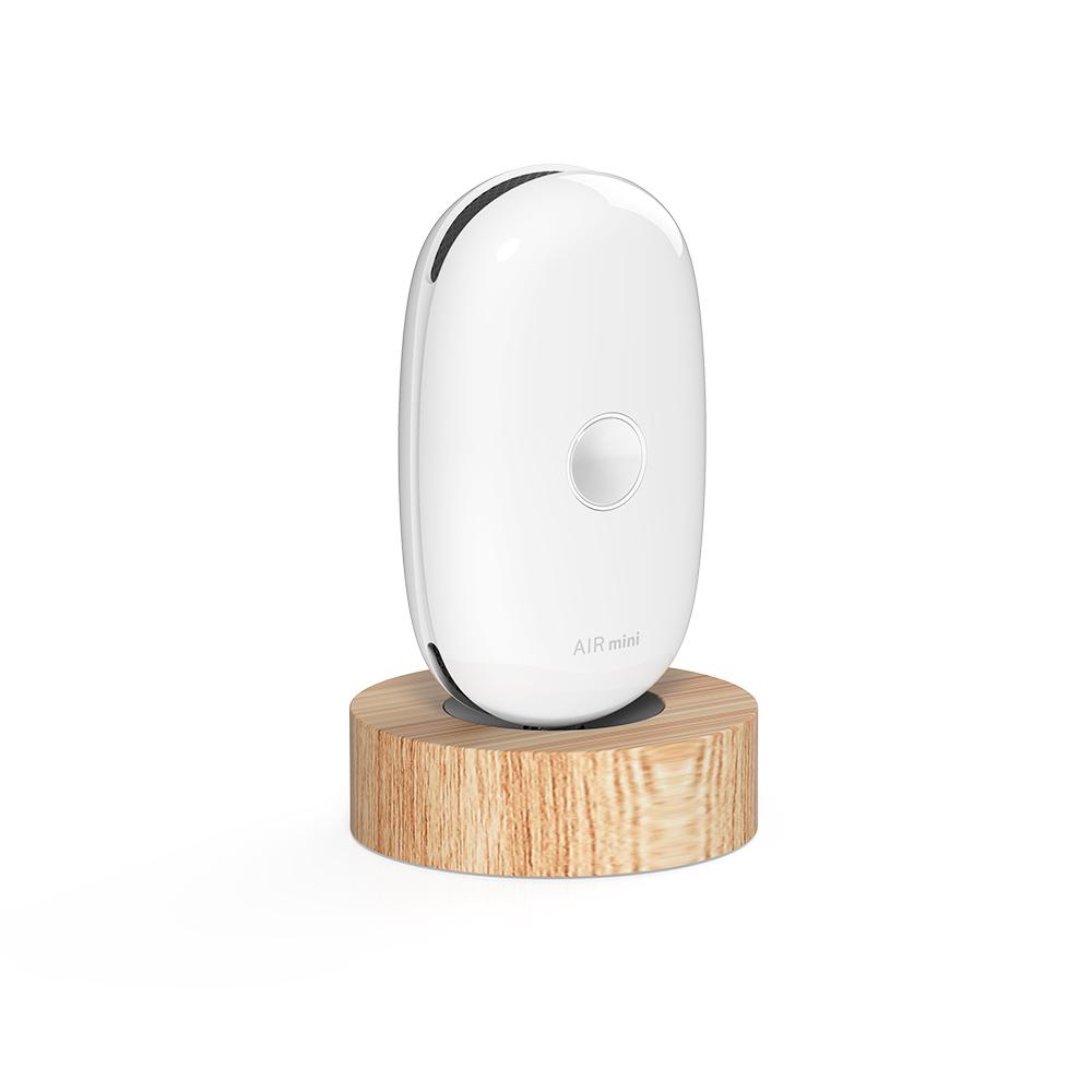 YFLife 圓方生活|AIRmini小鯨瓶 實木磁吸充電組-2入組(4色)